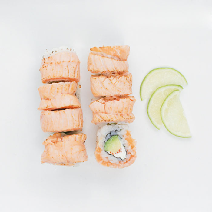 Salmon Grill Roll