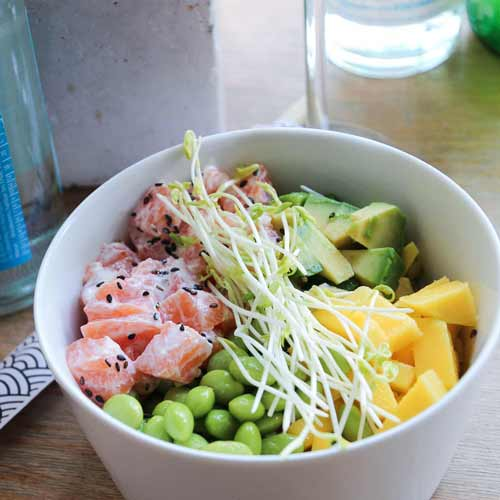 Salmon Poké Bowl