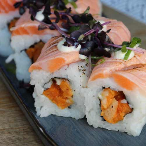 Sweet Salmon Roll